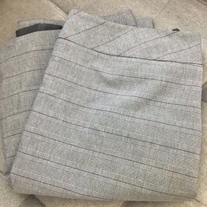 Le Suit Separates Striped Skirt
